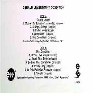 Gerald Levert / Mint Condition - Gerald Levert / Mint Condition mp3 download