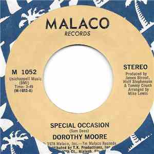 Dorothy Moore - Special Occasion / Girl Overboard mp3 download