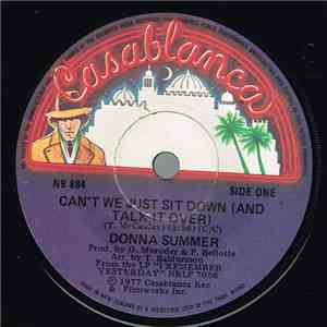 Donna Summer - Can't We Just Sit Down (And Talk It Over) mp3 download