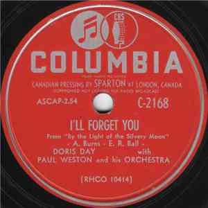 Doris Day With Paul Weston And His Orchestra - I'll Forget You / Your Eyes Have Told Me So mp3 download